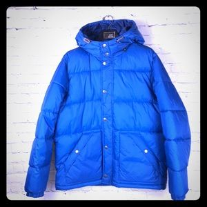 L- Warm Old Navy puffy coat w/ hood